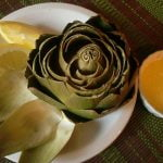 how to microwave artichokes