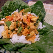 Home » Chicken » Thai Curry Chicken and Rice Bowls
