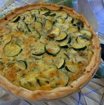 Fresh Herb and Zucchini Pie