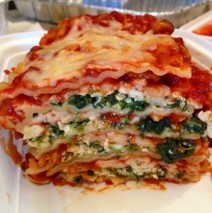 Mile High Spinach and Sausage Lasagna