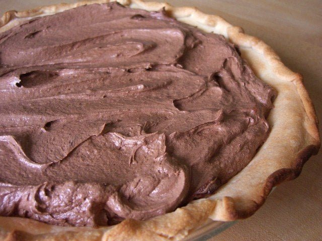whole chocolate pie