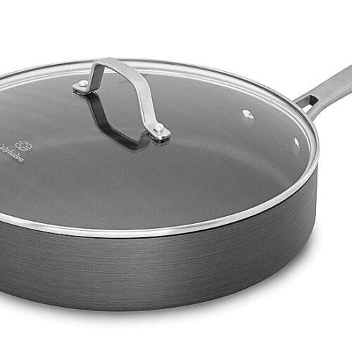Calphalon Classic Nonstick Saute Pan with Cover, 5 quart