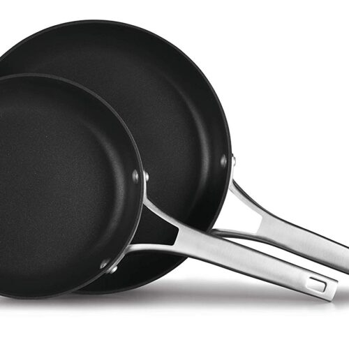 Calphalon Premier Hard-Anodized Nonstick 2-Piece Frying Pan Set