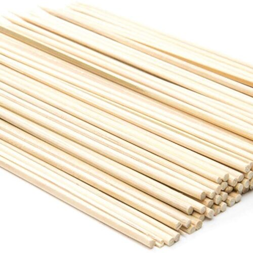 6 inch bamboo skewers set of 100