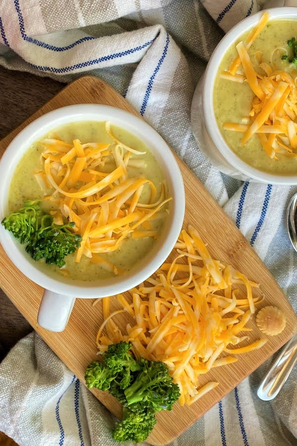 broccoli and cheese soup with extra cheese
